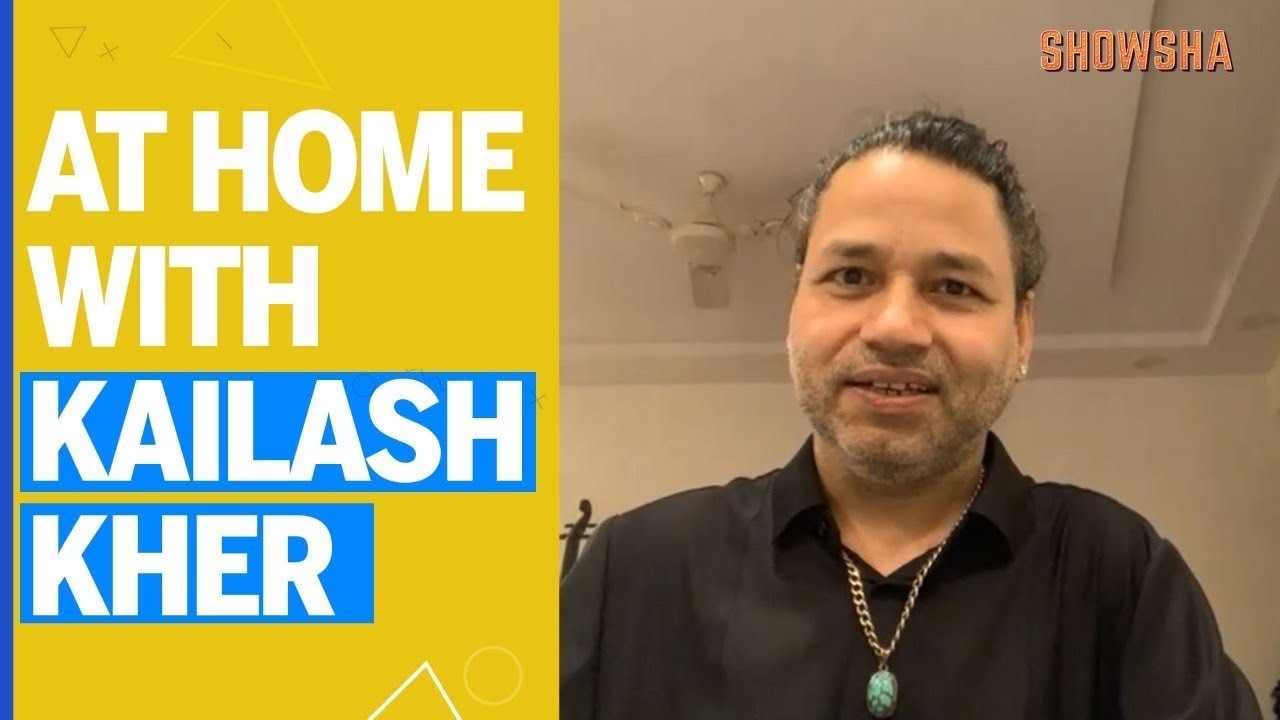"""AAPKI NEWS DELHI"":- At Home With Kailash Kher 