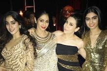This Throwback Pic of Janhvi, Khushi and Karisma Kapoor with Sridevi will Make You Nostalgic
