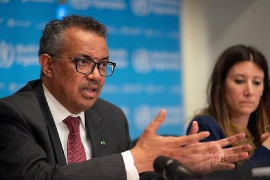 File photo of Director-General of WHO Tedros Adhanom Ghebreyesus  (Reuters)