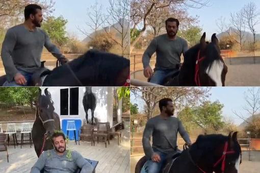 Salman Khan's Epic Horseback Ride Sends Former Bigg Boss Contestants Into Meltdown