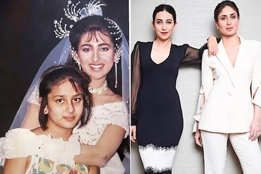Pic of Kareena Kapoor with Karisma Dressed as Bride is a Sweet Sibling Memory, See Here