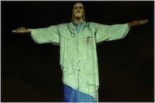 Christ, the Redeemer, Wears a 'Mask' to Spread Awareness During Coronavirus Pandemic