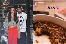 Arjun Kapoor Shares Glimpse of Malaika Arora's Bake, Check it Out