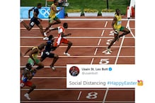 World's Fastest Man Usain Bolt Shows How to Maintain 'Social Distancing' With Cheeky Tweet