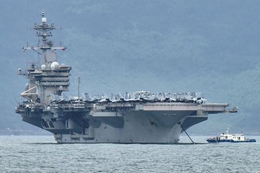 The USS Theodore Roosevelt (REUTERS/Kham/File Photo)