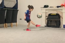 Watch | Six-year-old Lionel Messi Fan from Iran Shows Fine Football Skills