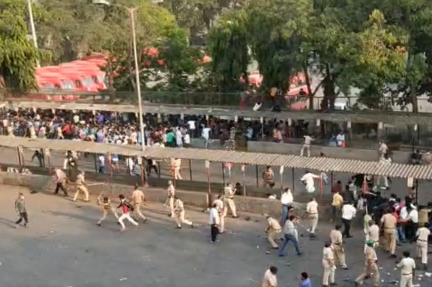 Political Blame Game Erupts After Migrant Workers Protest at Mumbai Bus Stand during Lockdown