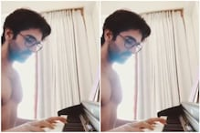 A Shirtless Ayushmann Plays 'Bella Ciao' on Piano, Says 'I Want To Be The Professor'