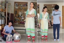 Madhuri Dixit Teaches Kathak Steps to Her Son Arin, Watch Video