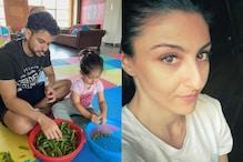 Kunal Kemmu, Inaaya Help Soha Ali Khan In Household Work, See Pic
