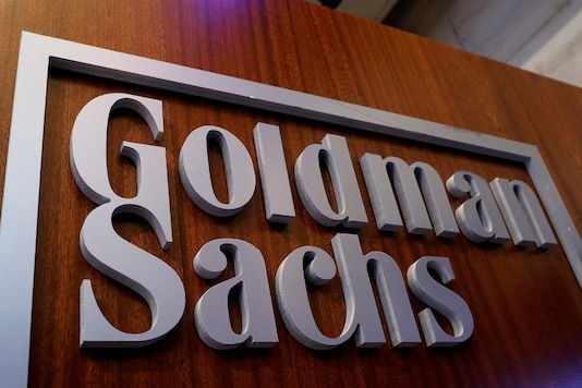 File photo of a Goldman Sachs signboard.  (REUTERS/Brendan McDermid)
