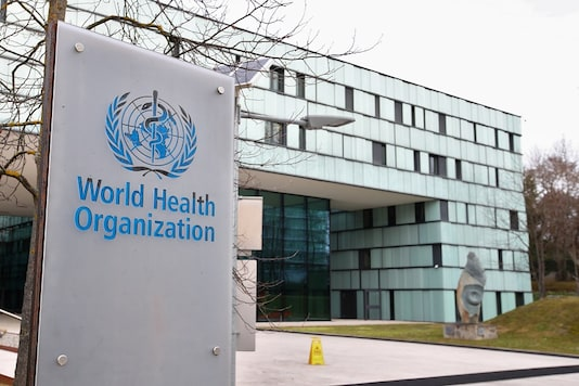File photo of World Health Organisation(WHO) building in Geneva. (Reuters)