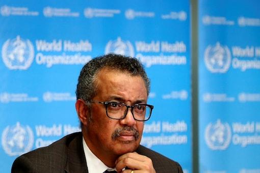 Director General of the World Health Organization (WHO) Tedros Adhanom Ghebreyesus. (Reuters)