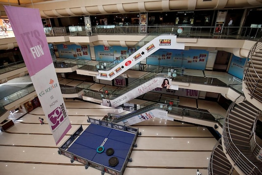 A view of an empty shopping mall after government banned public gatherings to avoid the spreading of the coronavirus. (Photo: Reuters)