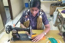 Telangana Woman Constable is Using Her Time Off to Make Covid-19 Masks Out of Old Clothes