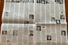 15 Pages of Obituaries in Boston Globe Newspaper Show Horrifying Coronavirus Reality in US