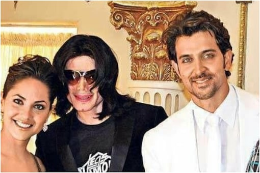 Hrithik Roshan and Michael Jackson