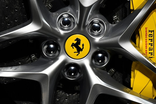 Ferrari logo. (Photo: Reuters)