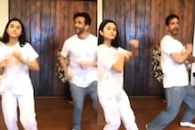 Jaaved Jaaferi Matching Steps With Daughter Alaviaa In This Clip Is For Keeps