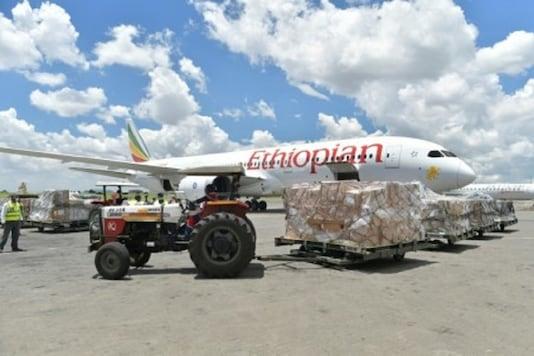 File photo of Ethiopian Airlines flight.