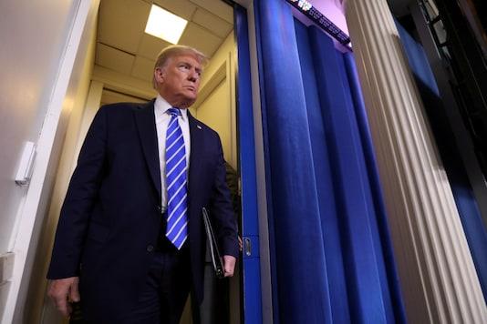 FILE PHOTO: US President Donald Trump. (Reuters)