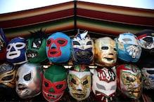 In Mexico, 'Lucha Libre' Wrestling Masks En Vogue in Coronavirus Fight
