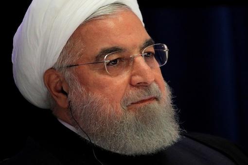 File photo of Iranian President Hassan Rouhani.  REUTERS/Brendan Mcdermid/File Photo