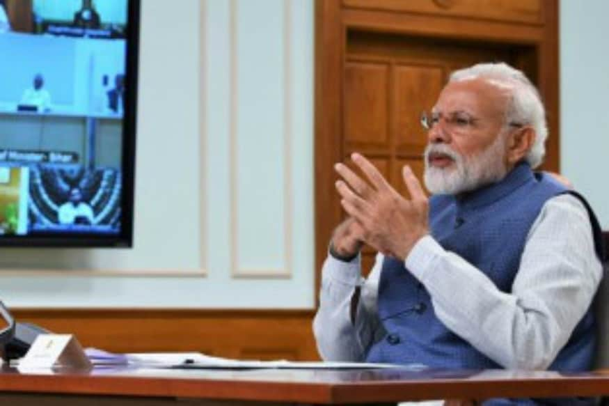 PM Modi's Video Conference With Chief Ministers on Graded Lockdown Exit Plan Begins
