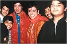 Krushna Abhishek Shares Old Pic with Govinda and Amitabh Bachchan