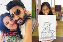 Farah Khan Gives Abhishek Bachchan 'Big Hug' For Buying Daughter's Charity Sketch For Rs 1 Lakh