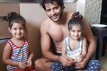 Karanvir Bohra Relates His Twin Daughter's Feats To A Line From Salman Khan's Movie