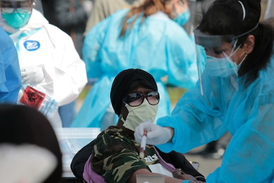 Patients being tested. (Reuters)