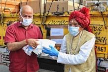 MDH Owner Mahashay Dharampal Gulati Donates 7500 PPE Kits to Manish Sisodia