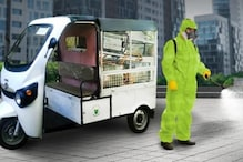 Kinetic Introduces Range of Fogging and Spraying Electric Vehicles in India