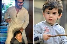 Taimur Gets a Stylish Haircut From His Dad Saif Ali Khan; See Pic