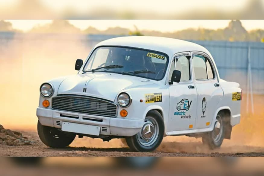 Iconic HM Ambassador Modified Into an Electric Vehicle is Completely Future-Proof