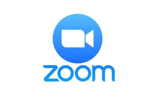 File photo of Zoom logo.