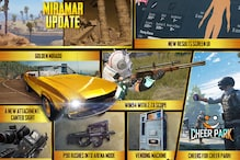 PUBG Mobile 'Mad Miramar': Golden Mirado, Canted Sight, Scoped Winchester 94 and More