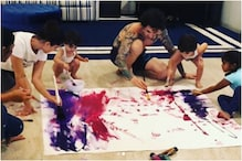 Sunny Leone and Family Switch to Painting Mode Amid Coronavirus Lockdown