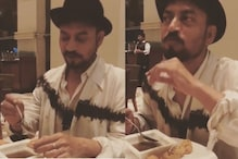 Irrfan Khan's Son Shares Throwback Video of Actor Enjoying a Plate Full of Pani Puri, Watch Here