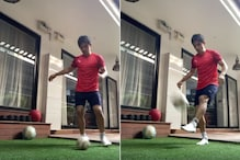Watch | Sunil Chhetri Gives Aspiring Footballers Simple Home Trick to Work on Weaker Foot