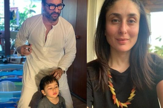 Taimur is All Set to Get a Haircut by Saif Ali Khan, Kareena Kapoor Shares Adorable Pic