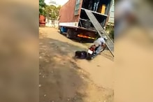 Royal Enfield Motorcycle Falling off an Unloading Ramp Shows Importance of Safety Gear - Watch Video