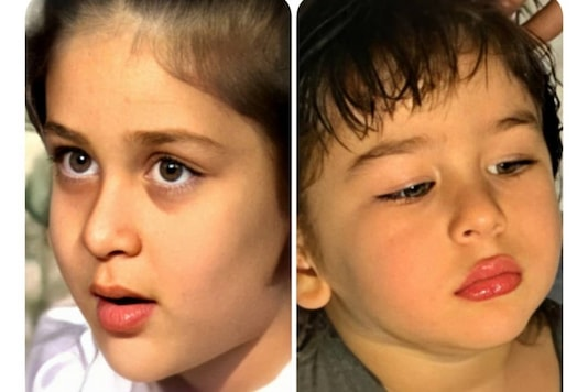 In This Mom vs Son Pic, Baby Kareena Kapoor Khan and Taimur Look Absolutely Adorable