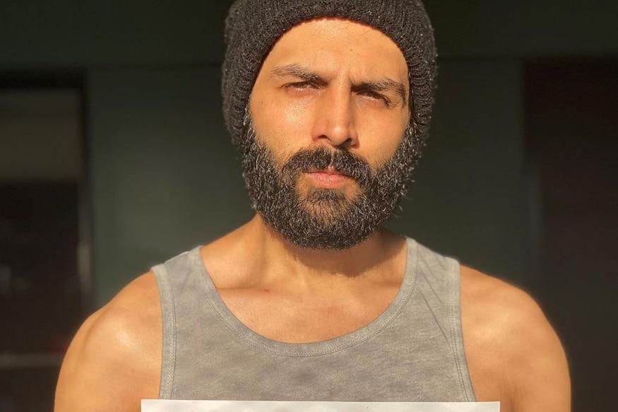 Kartik Aaryans Beard Look During I For India Gig Leaves Fans