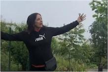 Foggy Sky Makes Neena Gupta Happy, Watch Video