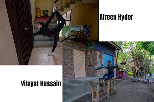 Afreen Hyder and Vilayat Hussain (Photo Credit: AP)