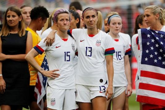 US women's soccer team (Photo Credit: Reuters)