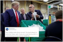 'Live and Let Die': Twitter Schools Donald Trump for Visiting Mask Factory Without Wearing One
