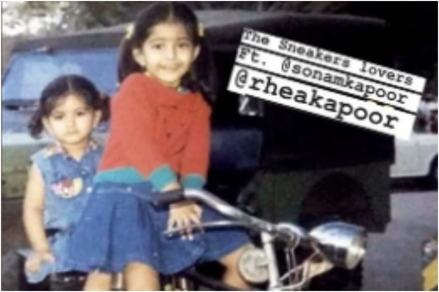 This Pic of Sonam and Rhea Kapoor on Bicycle is The Cutest Thing on Internet